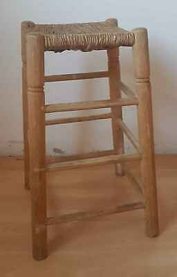Stool Top Antique Straw N° 1