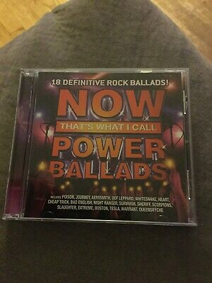 now thats what i call power ballads track list