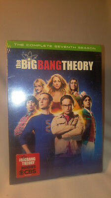 The Big Bang Theory: The Complete Seventh Season DVD, 2014, 3-Disc Set NEW