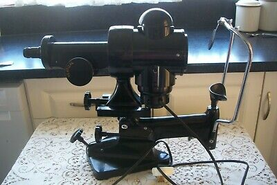 Vintage Bausch & Lomp Keratometer Optical Cornea Eye Diagnostic Instrument Works