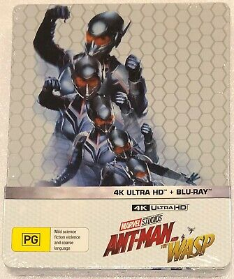 Ant-Man and the Wasp 4K Steelbook - Australian Exclusive Limited Edition Blu-Ray