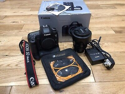 Canon 5D Mark III Digital SLR Camera + 24-105mm Lens, Battery Grip And Extras