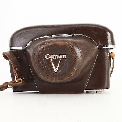 - Canon V Leather Everready Case for Canon Rangefinder Cameras