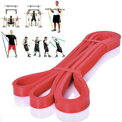 Resistance Bands Loop Cross Fit Yoga Pull Up Exercise Fitness Strength Training