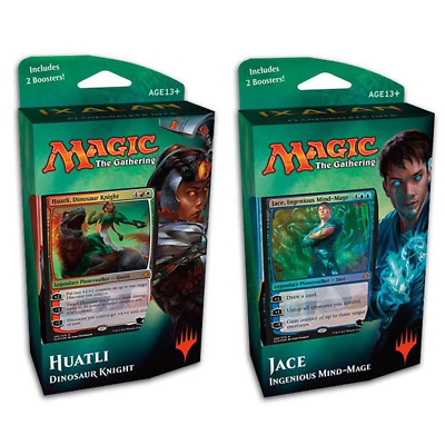Magic The Gathering Ixalan Planeswalker Both Decks