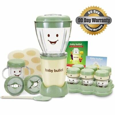 Capital Brands Magic Baby Bullet Complete Food Blender Processor System Puree