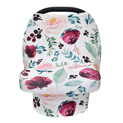 Baby Cart Cover Maternity Nursing Cover Scarf Breastfeeding Lactation Towel -BY7