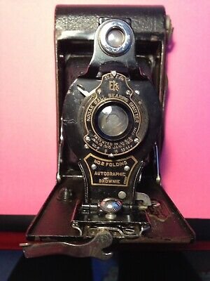 Vintage Autographic Bellows Camera