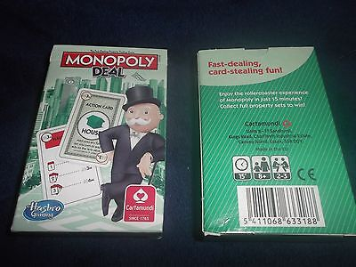 Monopoly Deal Card Game by Hasbro - New & Sealed x 2
