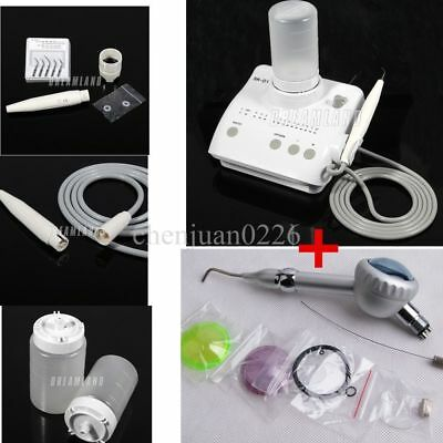 Dental Ultrasonic Scaler with Handpiece fit SATELEC SK-D1 with Air Polisher