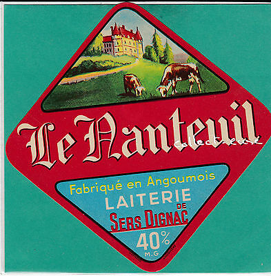 F 476 Fromage Le Nateuil Sers-Dignac Charente Angoumois Chateau
