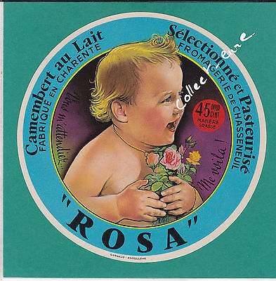 F 500 Fromage Camembert Rosa Chasseneuil  Charente Roses Enfant Variante