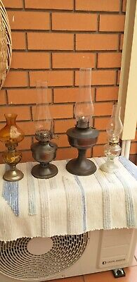 Kerosene Lanterns Oil Lamp Glass x 4