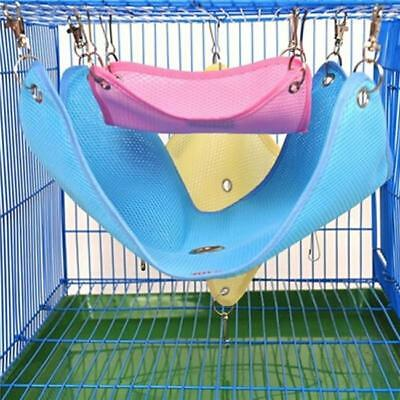 Hammock for Hamster Gerbil Mice Mouse Rat Rodents Hanging Bed Cage Toys CS
