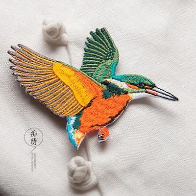 Butterfly Birds Embroidered Iron On Patch Badge Sewing Decorate Applique CS