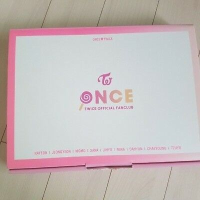 Twice Once 1st Official Membership Fan Kit Limited Rare Opened