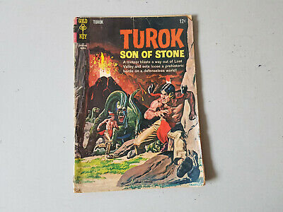 TUROK SON OF STONE COMIC No. 44 from 1965 - Gold Key