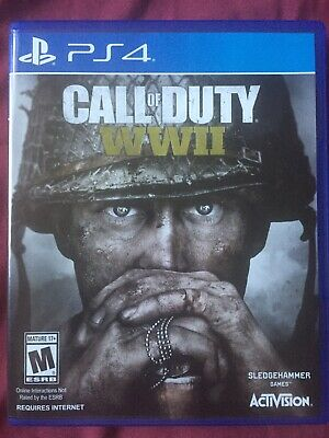Call of Duty: WWII (Sony PlayStation 4, 2017) Only Played Through Once!