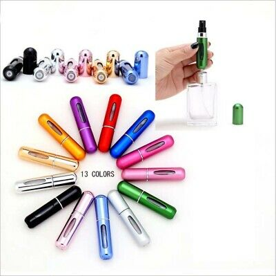 5ml Portable Mini Travel Refillable Perfume Atomizer Bottle Scent Pump Spray