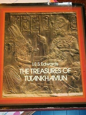 Lot of 4~King Tut Tutankhamen Tutankhamun & Egyptian Pharaohs Books-HB w/DJ & PB