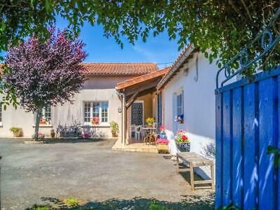 France:single Storey House Plus A 1-Bedroom Rental And Outbuildings - £145,000