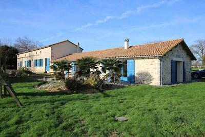 France:house+ 3/4-Bedroom Gite+ Petite Maison: Lake:set In 1.8 Acres-£320,000
