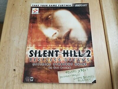 Silent Hill 2: Restless Dreams Xbox Brady Games Official Strategy Guide