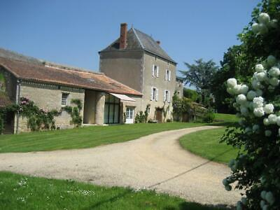 France:house 5/6-Beds+Petite Maison:chapel:heated Pool:set In 2.1 Acres-£295,000