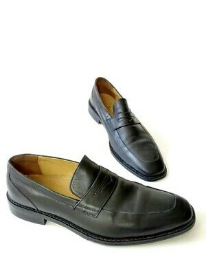 c2153008862 Cole Haan Mens Penny Loafers Dress Shoe C06597 Size 12 Black Leather Slip  On Q2