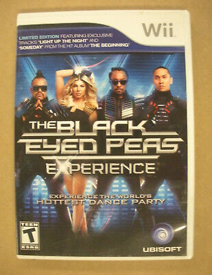 Black Eyed Peas Experience - Nintendo Wii Game - Complete & Tested