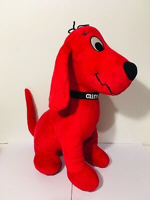 01d0df2117d00 KOHL'S CARES CLIFFORD The Big Red Dog For Kids Stuffed Animal Plush Toy 13