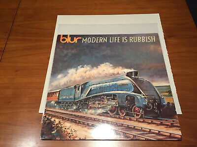 Blur ‎– Modern Life Is Rubbish LP Vinyl 1st UK