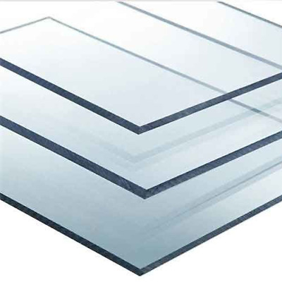 SOLID POLYCARBONATE SHEET GREENHOUSE SHED GLAZING + DISPLAY 2mm,4mm,6mm