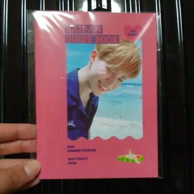 BTS Bangtan Boys Official 2018 Summer Package Saipan Guide Book Jimin KPOP