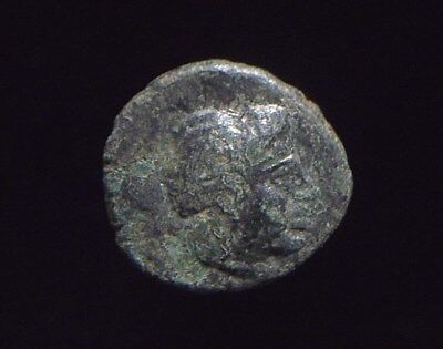 Authentic Greek coin from the city of Miletos in Ionia Lion reverse CC8869