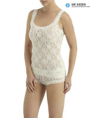 9b34d40f1 HANKY PANKY 1390L - SIGNATURE LACE Unlined Camisole NWT  48-55 ...