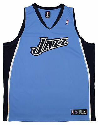 best service 34b37 52997 ADIDAS NBA MEN'S Utah Jazz Blank Basketball Jersey, Blue