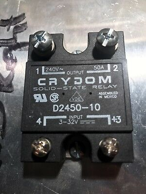 (5) Crydom D2450-10 Solid State Relays