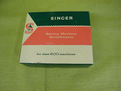 Vintage Singer Special Discs For Class 600 Machines with Original Box