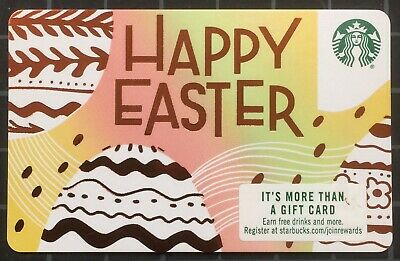 New 2019 Starbucks Easter Gift Card - AVAILABLE NOW