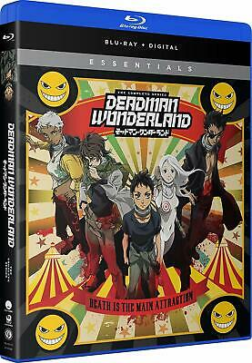 Deadman Wonderland: The Complete Series (Blu-ray Disc, 2013, 2-Disc Set)