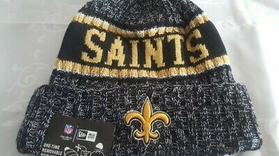 18156f7844d NEW ORLEANS SAINTS NFL Knit Hat Brand New with Tags -  20.75