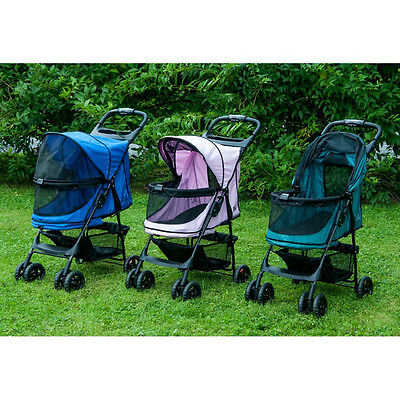Happy Trails No-Zip Pet Stroller By Pet Gear-3 Colors-*free Shipping In The U.s.