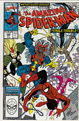 The Amazing Spider-Man Vol 1 #340 FN+ / FN 1990
