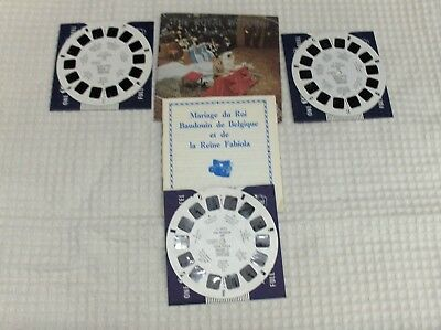 3 disques view -  master The Royal wedding Belgium 1961  état voir photos