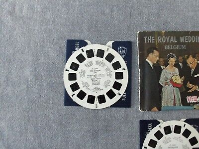 3 disques view -  master Royal Wedding Belgium  état voir photos