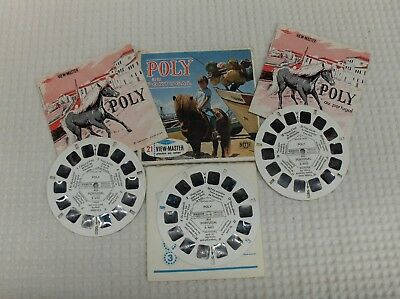 3 disques view master POLY au Portugal état voir photos