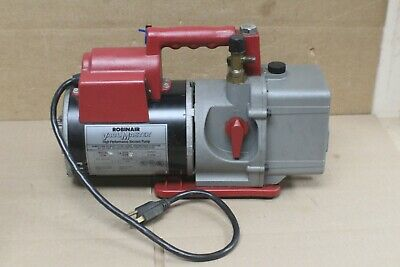 USA Robinair 15600 VACUMASTER VACUUM PUMP High Performance 6 CFM Free Shipping!