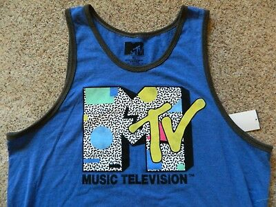 3a78e08af9a175 MTV MUSIC TELEVISION Tank Top Muscle Shirt Mens -  12.99