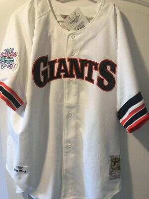 b5a627deca3 AUTHENTIC SAN FRANCISCO Giants Will Clark 1989 World Series Jersey ...